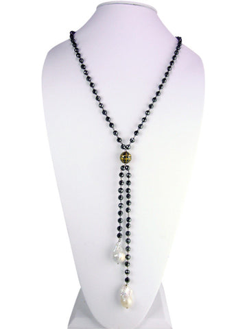 d1030 necklace lariat with diamonds