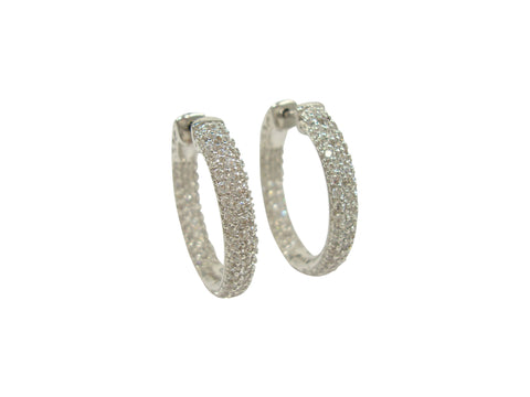 E5036 medium hoop earring