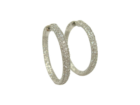 E5037 large hoop earring