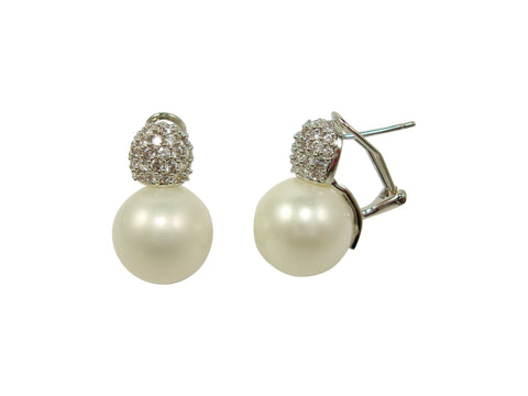E6245 yelllow gold earring