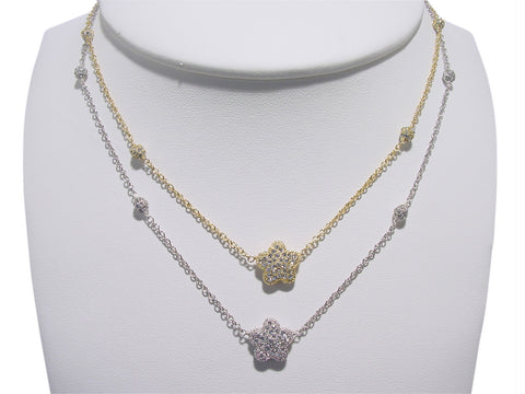 N2648 flower  necklace