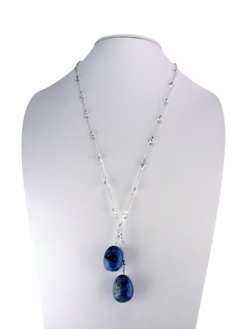 n3414 lariat diamonds by yard with lapis