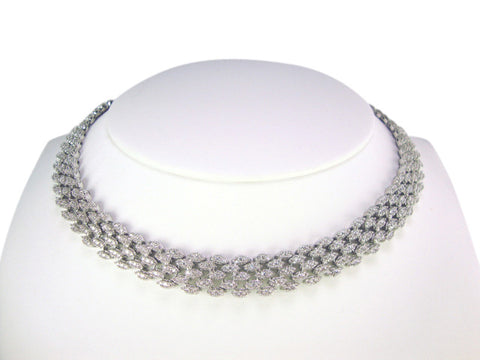 N3994 cubic zirconia necklace