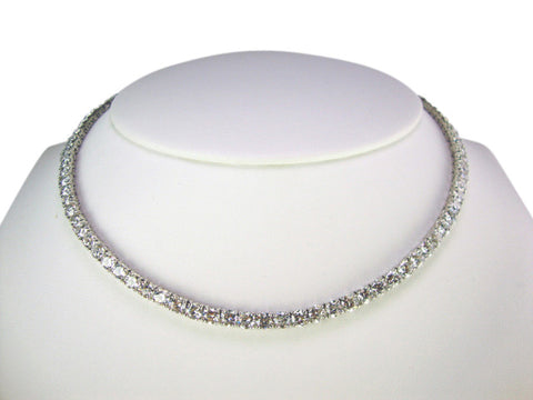 N4184 cubic zirconia necklace