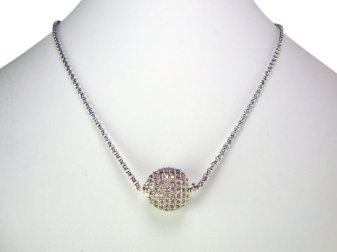 N4268 cubic zirconia necklace