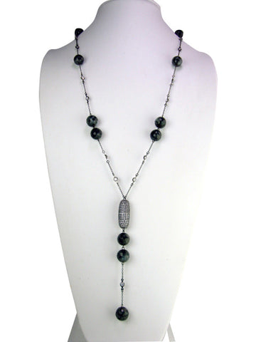 n4645 necklace oxidized larriet