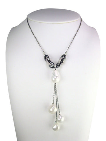 n4747 necklace lariat drop
