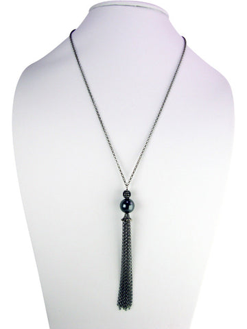 N4750-2 Necklace tassel drop