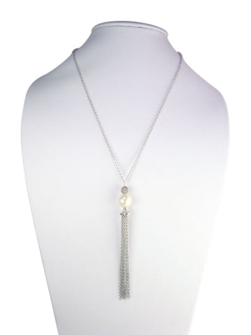N4750 Necklace tassel drop