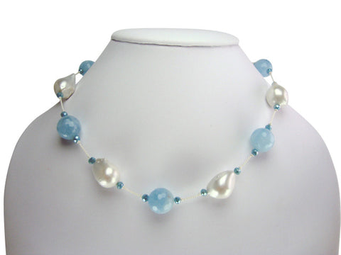 n4793 necklace silk