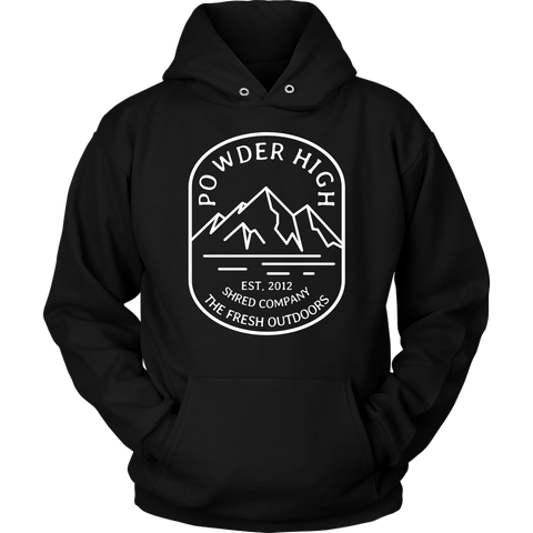 Mt. Powder High Unisex Hoodie