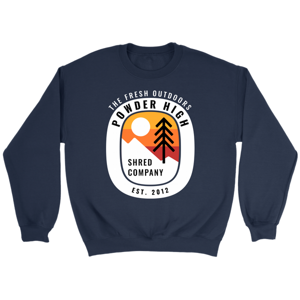 Sunset Crewneck Sweater