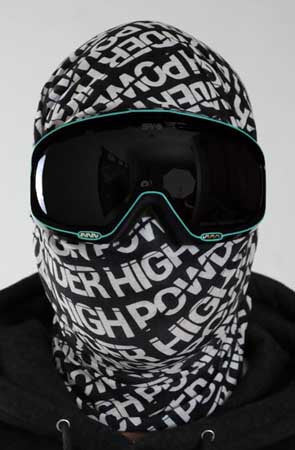 The Ninja Face Mask / Neck Gaiter - Powder High Apparel