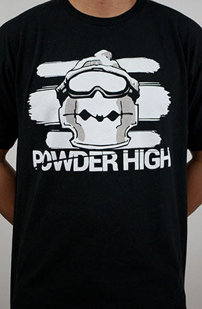 Razor Rawmon Men's Crew Neck T-Shirt in Black - Powder High Apparel