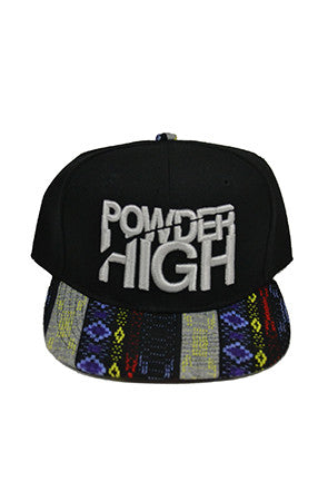 Multi-Color Aztec Print Snapback Baseball Hat - Powder High Apparel