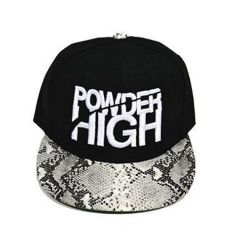 Black Animal Print Snapback Baseball Hats (click for more colors)