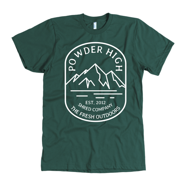 Mt. Powder High Men's Tee