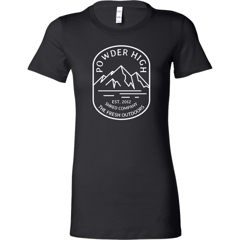 Mt. Powder High Women's Tee