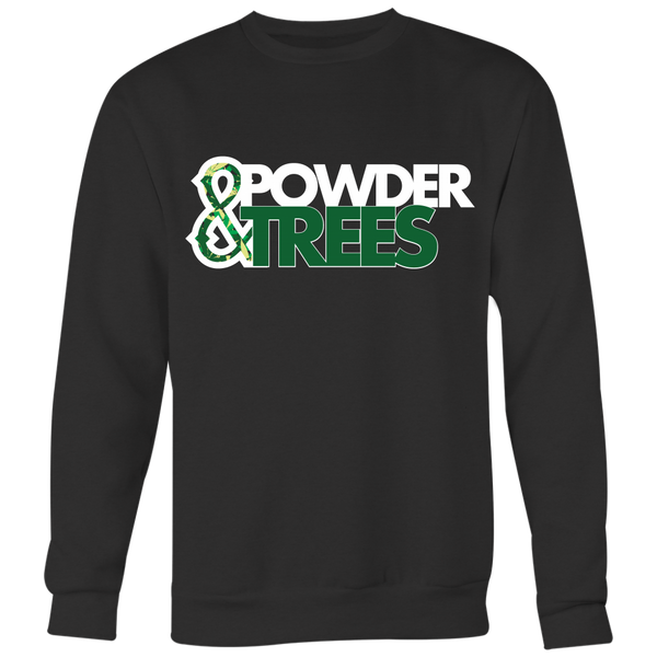 Powder & Trees Crewneck