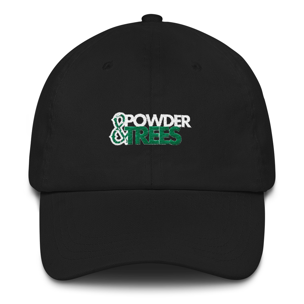 Powder & Trees Dad Hat