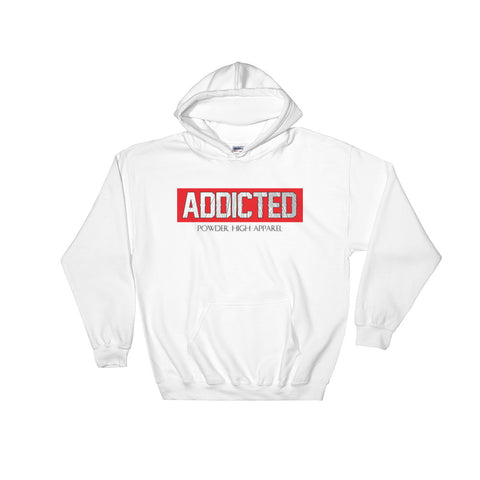 Addicted Hoodie Sweater in White or Grey