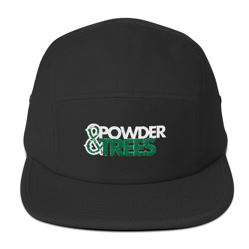 Powder & Trees Five Panel Camper Hat