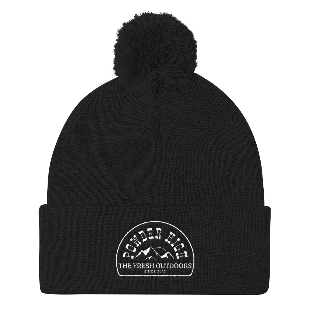 The Fresh Outdoors Pom Beanie