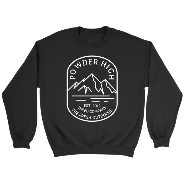 Mt. Powder High Crewneck Sweater