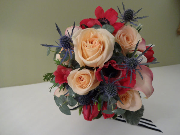 Sprint Sweet Wedding Bouquets with vase