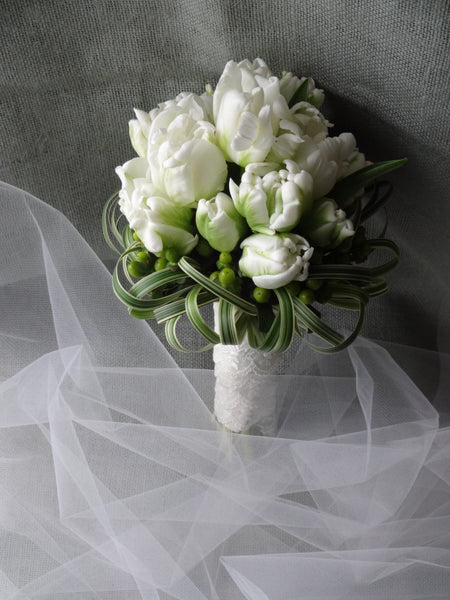 Purity of happiness Wedding bouquet