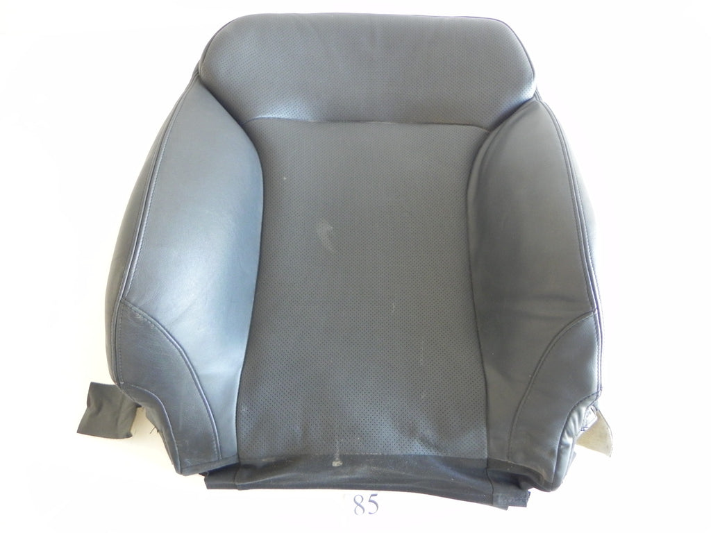 2008 LEXUS IS250 IS350 SEAT COVER FRONT TOP RIGHT SIDE BLACK LEATHER OEM #85 A