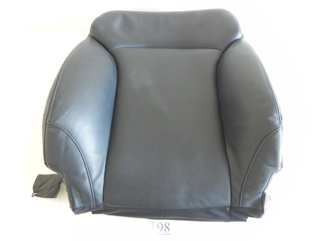 2008 LEXUS IS250 IS350 SEAT COVER FRONT TOP RIGHT BLACK UPPER LEATHER OEM #98 A
