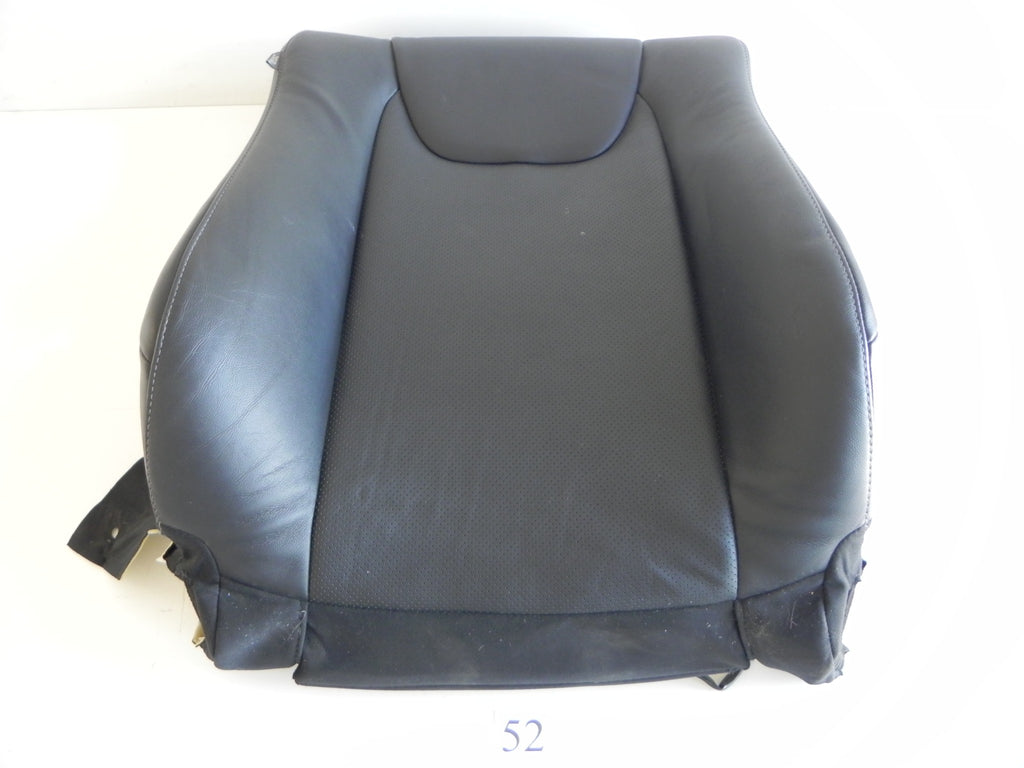 2013 LEXUS RX350 SEAT COVER CUSHION FRONT TOP RIGHT SIDE LEATHER BLACK OEM #52 A