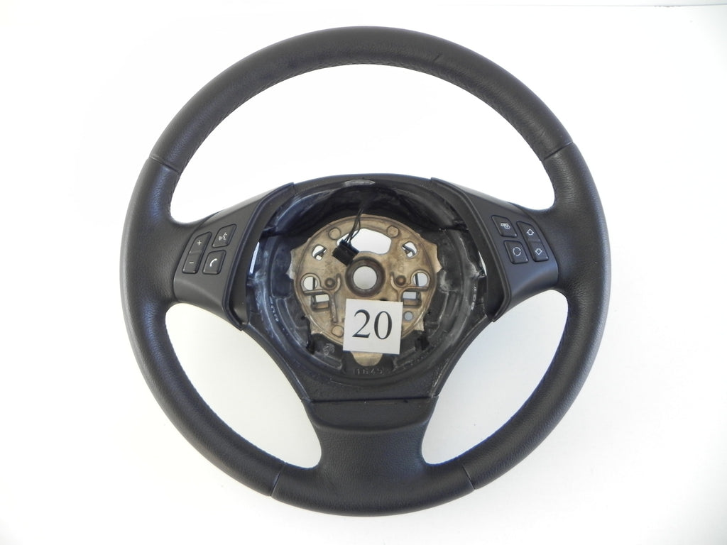 #20 BMW E90 STEERING WHEEL LEATHER #488 - Advancebay, Inc.