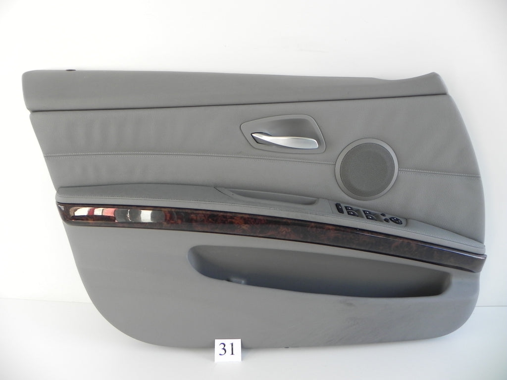 #31 BMW E90 DOOR PANEL FRONT LEFT DRIVER SIDE #488 - Advancebay, Inc.