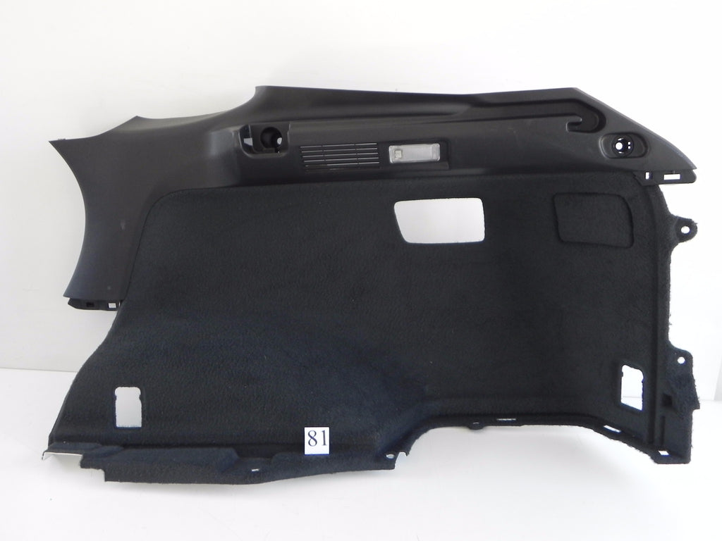 2013 LEXUS RX350 LUGGAGE TRIM COVER LINER PANEL RIGHT 64730-0E020 OEM 192 #81 A