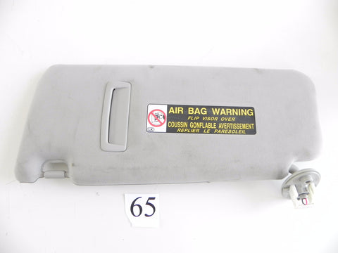 2013 LEXUS IS250 SUN VISOR ROOF SHADE RIGHT SIDE PANEL 74310-53151 OEM 298 #65 A