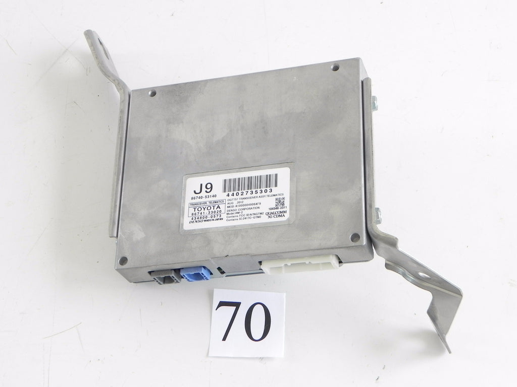 2013 LEXUS IS250 TRANSCEIVER TELEMATICS MODULE UNIT 86740-33020 OEM 298 #70 A
