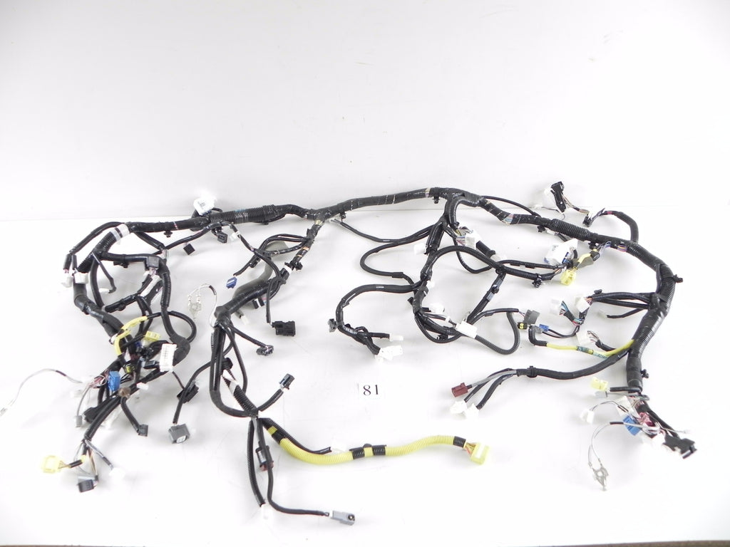 2013 LEXUS IS250 DASH WIRE HARNESS DASHBOARD WIRING 82141-53U53B OEM 298 #81 A