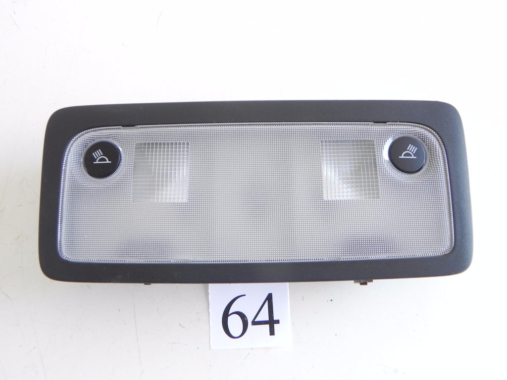 2014 LEXUS IS250 F-SPORT ROOF READING DOME LIGHT LAMP REAR PANEL OEM 813 #64 A