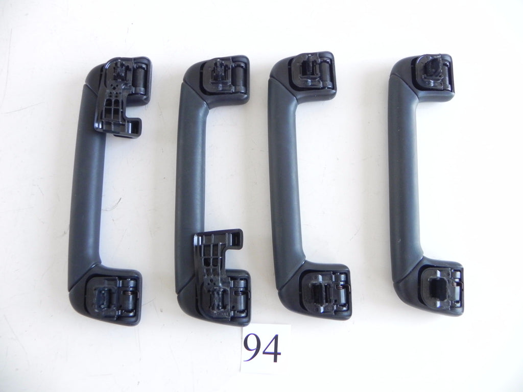 2014 LEXUS IS250 ROOF HEADLINER HANDLE GRAB GRIP SET OF FOUR BLACK OEM 813 #94 A