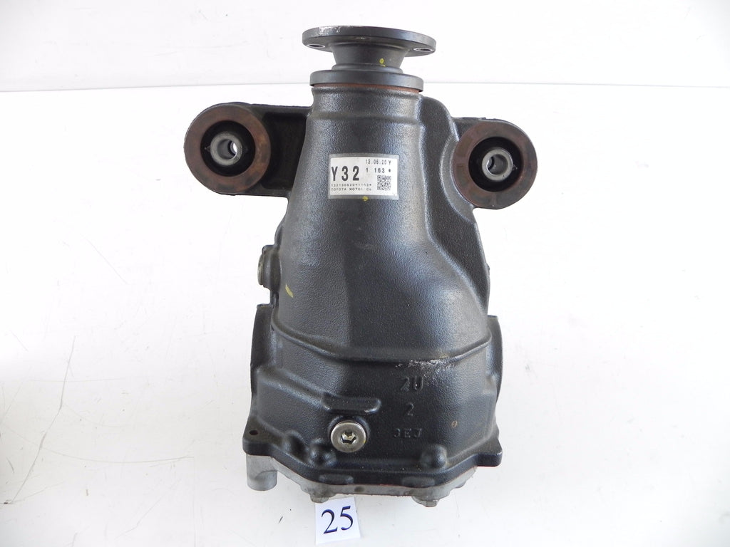 2014 LEXUS IS250 F-SPORT REAR DIFFERENTIAL Y32 FACTORY OEM 813 #25 A