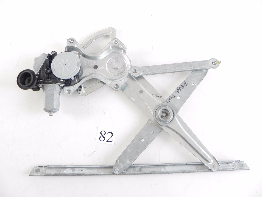 2013 LEXUS RX350 WINDOW GLASS MOTOR LINKAGE REGULATOR REAR LEFT DOOR OEM #82