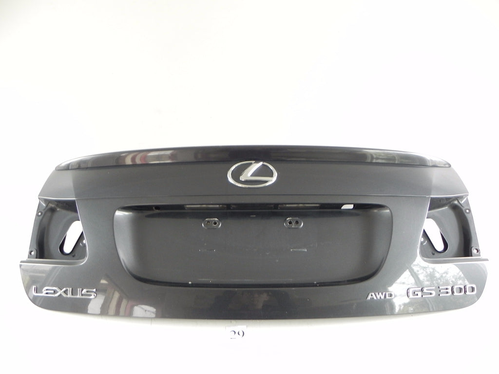 2006 LEXUS GS300 GS350 REAR TRUNK LID LUGGAGE DOOR COVER SHELL FACTORY 178 #29 A - Advancebay, Inc.