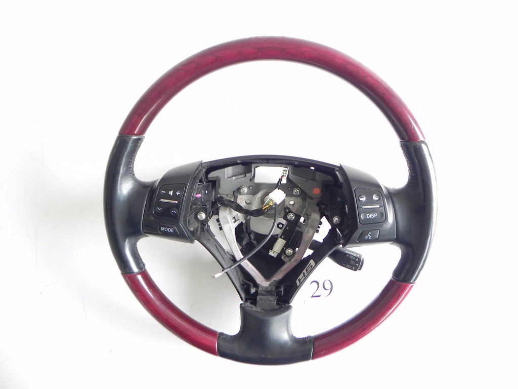 2006 LEXUS GS300 GS350 STEERING COLUMN WHEEL WITH SWITCH BUTTON OEM 178 #29 A - Advancebay, Inc.