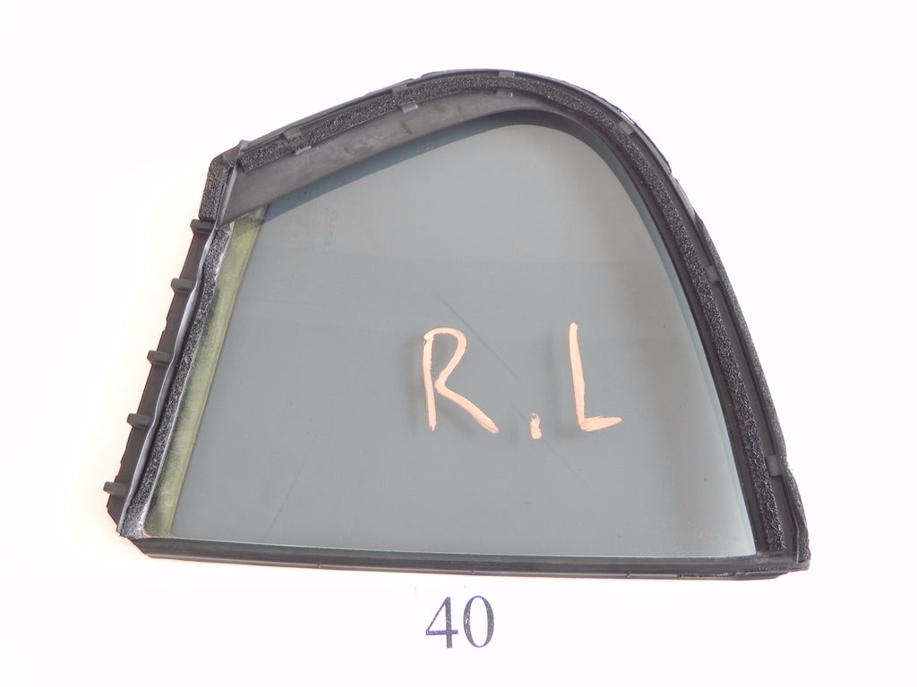 2006 LEXUS GS300 GS350 QUARTER GLASS WINDOW REAR LEFT DRIVER SIDE OEM 178 #40 A - Advancebay, Inc.
