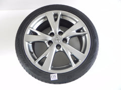 2009 LEXUS IS250 IS350 REAR WHEEL RIM TIRE HANKOOK 255/40ZR18 1/2 99Y 742 #08 A