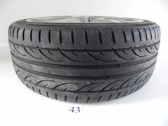 2009 LEXUS IS250 IS350 WHEEL RIM REAR TIRE HANKOOK 255/40ZR18 99Y OEM 742 #43 A