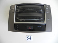 2010 LEXUS IS250 TEMPERATURE CONTROL DISPLAY MARK LEVINSON FACTORY OEM 922 #54 A