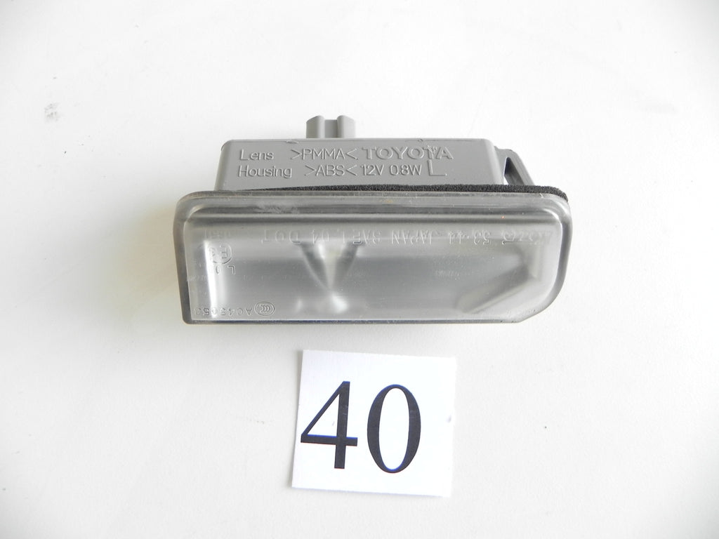 2010 LEXUS IS250 IS350 LUGGAGE LID LIGHT LEFT DRIVER SIDE FACTORY OEM 922 #40 A